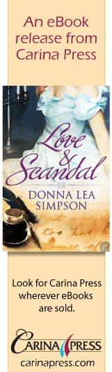 Love & Scandal - Carina Press Ad